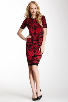 Briella Baroque Knit Dress