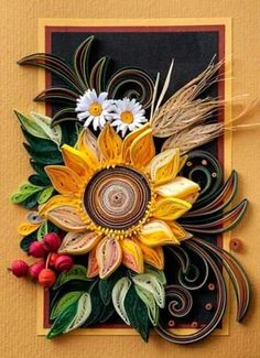 Paper Quilling Cards Ideas by Angel - Life Chilli - http://centophobe.com/paper-quilling-cards-ideas-by-angel-life-chilli/ -