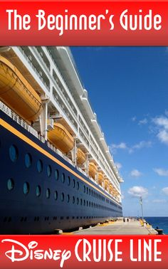 The Beginner's Guide to Disney Cruise Line - Includes links to money saving tips (Disney Cruise Line on a Dime), dress code tips (What Not to Wear) and free perks (Hidden Pixie Dust) Disney Dream Cruise, Disney Cruise Tips, Disney World Vacation, Disney Vacations, Family Vacations, Disney Travel, Cruise Travel, Cruise Vacation, Vacation Planner