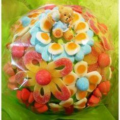 Bouquet et fleurs de bonbons. Ramo de #chuches #candy