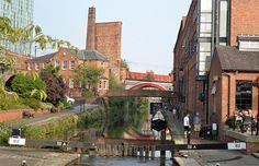 Au fil de l'eau à Manchester
