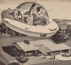 Chronically Vintage: My new favourite personal spaceship design Kids Homework, Spaceship Design, Flying Car, Pin Up Tattoos, Aesthetic Images, What Is Tumblr, Retro Futurism, Cute Baby Animals, Futuristic