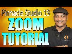 Pinnacle Studio 19 Ultimate - Zoom Tutorial - YouTube