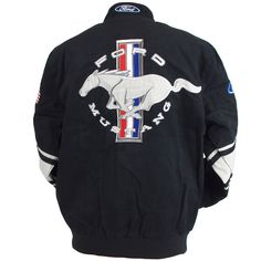 Muscle Car Apparel and Gifts - Ford Mustang Jacket, $119.00 (http://www.musclecarapparel.com/ford-mustang-jacket.html)