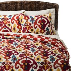 Mudhut� Dasha Reversible Quilt Set .....I like this one! Its funky, but cool. and its reversible!