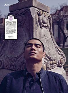 Nostalgic in Tsinghua: Hao Yun Xiang for Esquire China image hao yun xiang photo 002