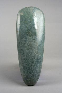 Celt, 10th–4th century B.C. - Mexico, Mesoamerica - Culture: Olmec - Medium: Jade