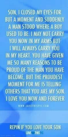 Proud Of My Son Quotes And Sayings Son, i closed my eyes for but Son Quotes From Mom, Mother Son Quotes, My Children Quotes, Mom Quotes, Quotes For Kids, Family Quotes, Life Quotes, Change Quotes, Love My Son Quotes