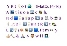 Thank you emoji for helping me with my lesson! #lsdseminary #seminary let your light so shine. Matthew 5:14-16  #doctrinalmastery