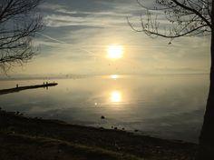 Alba al lago Trasimeno!!!