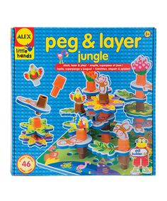Look at this Peg & Layer Jungle Set on #zulily today!