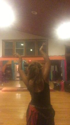 #A Dance 4 The Dancing Spirit Students  w/ class hip practices in 1)Arm up ,melt / pull down 1) Slow 4 stretch round hips 2)Dumboom hip push on ct 1/hold.Practice hips,4 ct. turns, find 3 yds of fabric, make a veil or PM to order. I bow to #thedancingspirit in everyone https://www.facebook.com/permalink.php?story_fbid=10154435370612474&id=750687473