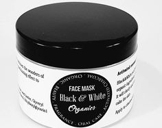 Our bamboo charcoal mask has incredible absorption abilities, this allows the mask to pull excess oil, toxins, impurities from skin(think blackheads, ect). This is a wash off mask that gently reduces large pores and blackheads without damaging delicate facial skin. Add antimicrobial, healing organic raw honey along with Sachi inchi that feeds skin omega 3, 6, vitamins A, E, and contains alpha hydroxy acid to remove dead skin to brighten your complexion. No more glue masks that rip everything…
