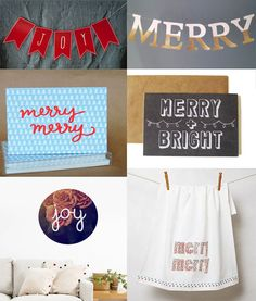 Mollie Makes Monday moodboard: merry and bright