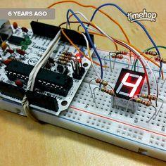 Brincando com #arduino há 6 anos... #prototype by tersis
