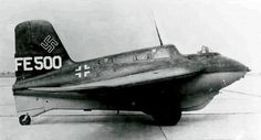 """ME-!63b Komet Rocket Plane. WWII - Eric """"Winkle"""" Brown managed to fly one of these deathtraps."""