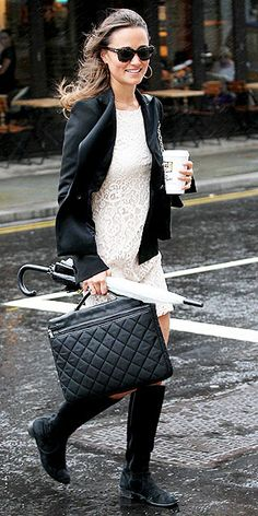 pippa middleton.     such a fan of this look