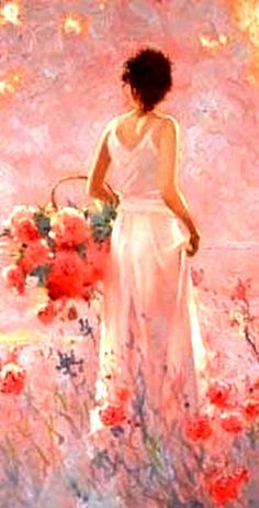 Richard S Johnson ~Love every shade of coral used! #VeryCreative