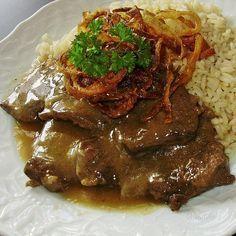 Viedenská roštenka je jedno z mojich najobľúbenejších jedál, ak nie… No Salt Recipes, Beef Recipes, Chicken Recipes, Cooking Recipes, Y Recipe, Czech Recipes, Russian Recipes, Modern Food, Good Food