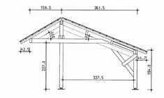 Would like to find out about build your own shed plans? Then here is definitely the right place! Diy Shed Plans, Barn Plans, Garage Plans, Carport Designs, Garage Design, Carport Sheds, Pergola Carport, Balustrade Balcon, Building A Carport