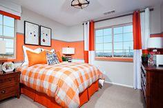 Bedroom at Elara Plan 3 | New Homes at Inland Empire
