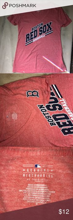 Boston Red Sox tee EUC 5th & Ocean Tops Tees - Short Sleeve