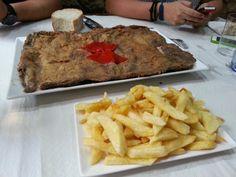 Cachopo en Gijon,  Asturias