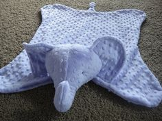 cute elephant blanket!