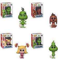 Funko Pop Figures, Pop Vinyl Figures, Disney Pixar, Pop Bobble Heads, Christmas Time Is Here, Action Figures, Animation, Dolls, Grinch