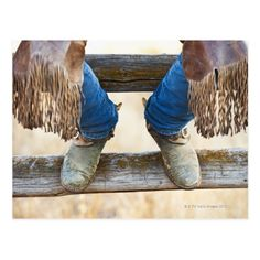 boots  on fence posts photos | Cowboy boots on fence postcard | Zazzle