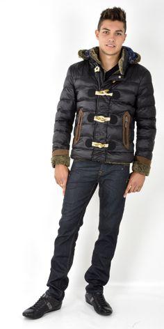 Doudoune homme à fourrure fashion Doudoune Homme, Veste Homme, Fourrure,  Manteau En Peau 976ec6ee416