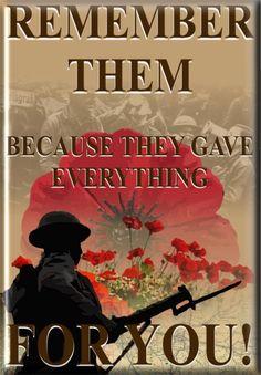 ARMISTICE DAY - ❈ www.pinterest.com/WhoLoves/Rememberance-Day ❈ #RememberanceDay #Armistice Day #PoppyDay