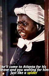 """Mammy to Scarlett~""""Gone With the Wind"""" Quotes. Go To Movies, Old Movies, Great Movies, Classic Hollywood, Old Hollywood, Ana Karenina, Wind Quote, Hattie Mcdaniel, Favorite Movie Quotes"""