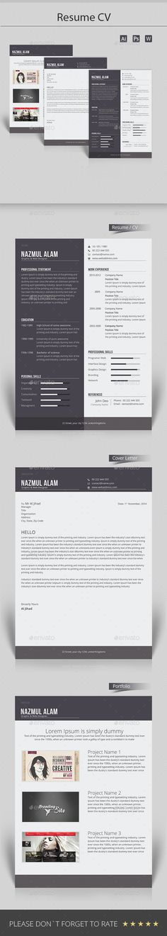 Resume Cv template, Resume cv and Photoshop illustrator - ocean engineer sample resume