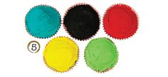 Olympic cupcakes Meri Meri Stationery, Cupcake and Bakeware and Partyware