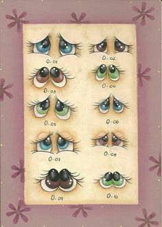 Now if I can figure out how to crochet eyes like these...They are so sweet.