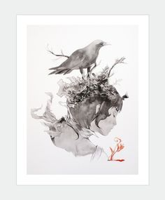 Thought Control by MaiArt's artist Chan Shun Hong Available: http://www.maiart.hk/shun-hong-chan/thought-control-art-print--310gsm-hahnemhle-fine-art-paper