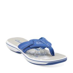 Breeze Eloie in Blue Synthetic - Womens Sandals from Clarks