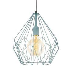 Eglo Carlton Hanglamp ⌀ 31 cm - Mint - afbeelding 3