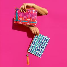 """""""Jakarta"""" & """"Mumbai"""" pouches from SS15 collection / available on www.iamtomyk.com"""
