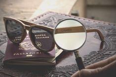 """Model slnečných okuliarov DOREEN, vytvorený z dubového dreva, je kombináciou svetlého dreva a klasických tmavých skiel. Takýto kontrast a trendy """"wayfarer"""" dizajn robí z tohto modelu ideálny doplnok na slnečné letné dni.  #laimer #wandelia #slnecneokuliare #wood #drevo #dreveneokuliare #sunglasses #woodensunglasses #natur #nature Cat Eye Sunglasses, Round Sunglasses, Bel Air, Wildfox, Modeling, Trendy, Eyes, Wayfarer, Products"""