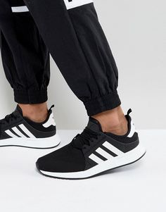 adidas Originals X PLR Sneakers In Black BY8688 Adidas Originals Mens 7773c2e7df