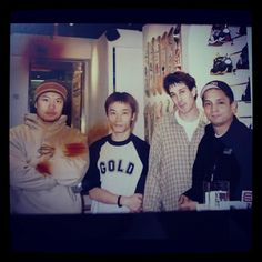 8FIVE2SHOP 2001 with Flo, Ricky Oyola and WZA. - @jbs8five2- #webstagram  Blast from the past!