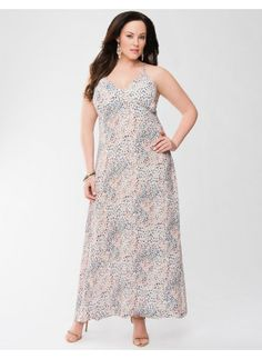 Lane Bryant Plus Size Lane Collection slip dress - - Women's