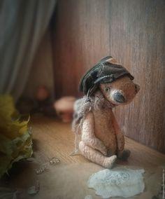"""Купить """"Осенний ветер"""" мишка тедди - мишка, мишка тедди, мишка ручной работы"""