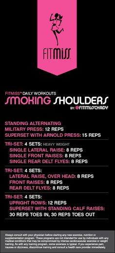 FitMiss Smoking Shoulders Workout