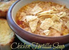 Heather's Chicken Tortilla Soup Recipe