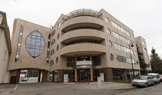 Romano Botti architetture - Centro per la Indikpol - Olkuska - Varsavia con l'architetto Kalina Eibl