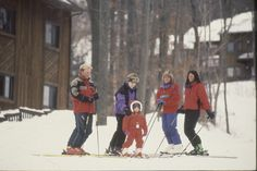 Family in the 80's. #MountainCreek