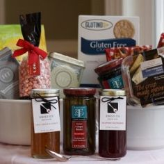 Christmas gift baskets toronto with free delivery make your gluten free gift baskets negle Images